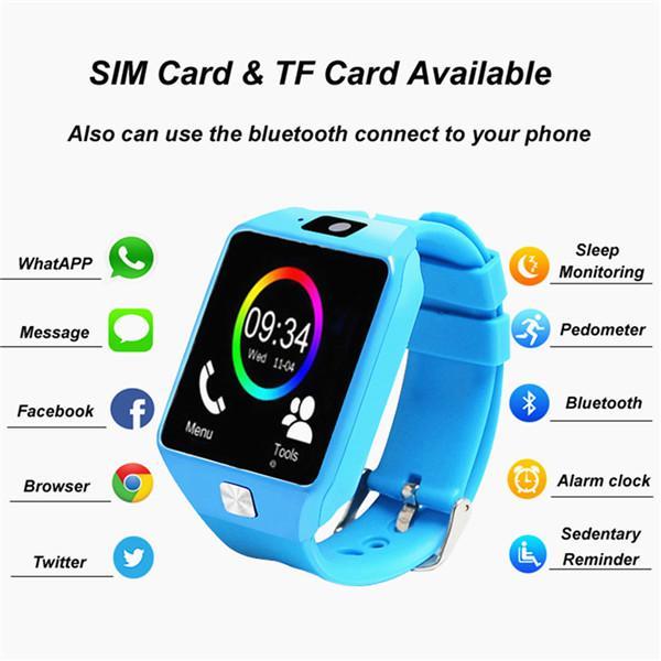Фото - Дети смарт-Часы наручные анти потери Bluetooth Dialer смарт-часы для ios Android телефон наматрасник dimax аква смарт протекшн плюс 200x200