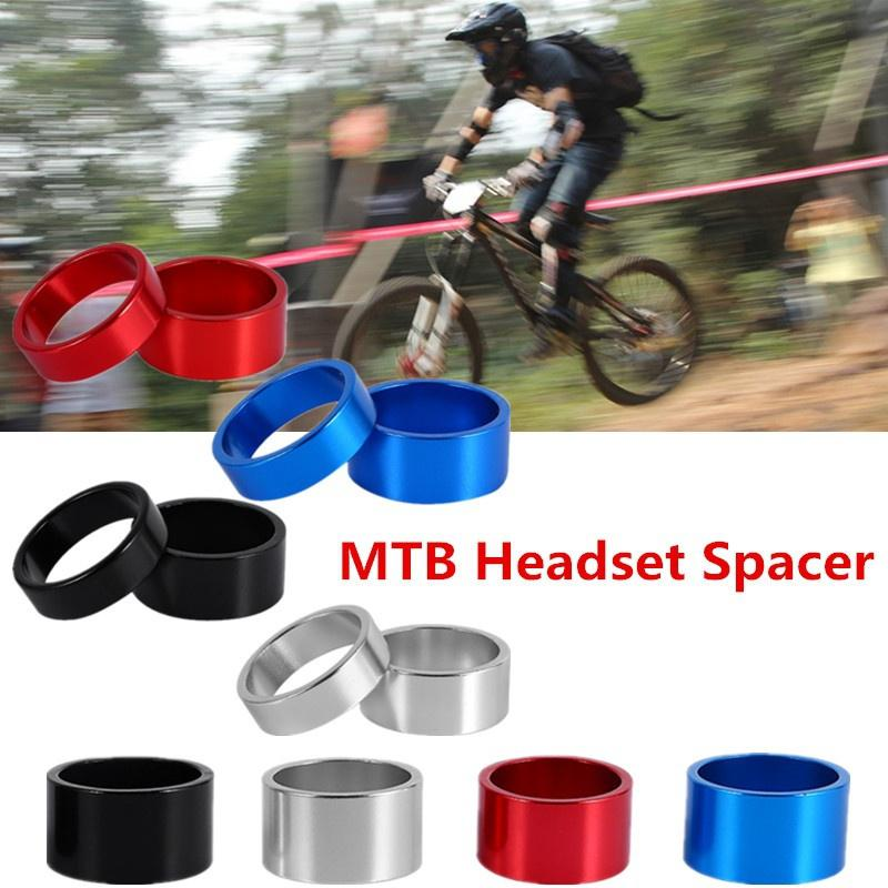 4Pcs Headset Spacer Bike Front Stem Fork Washer Cycling Tools 5mm//10mm//15mm//20mm