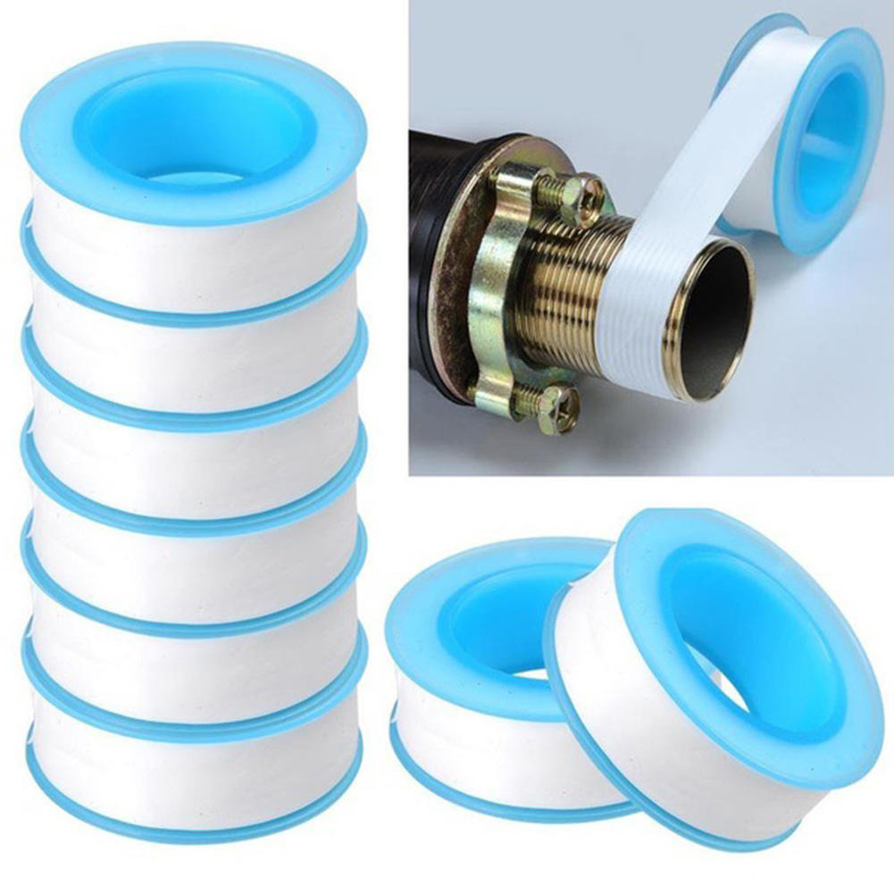 10M PTFE Rubber Water Pipes Tape Faucets Repair Waterproof Leakproof##