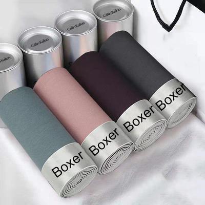 4pcs/lot Boxershorts Men's Underwear Male Underpants Plus Size L-4XL