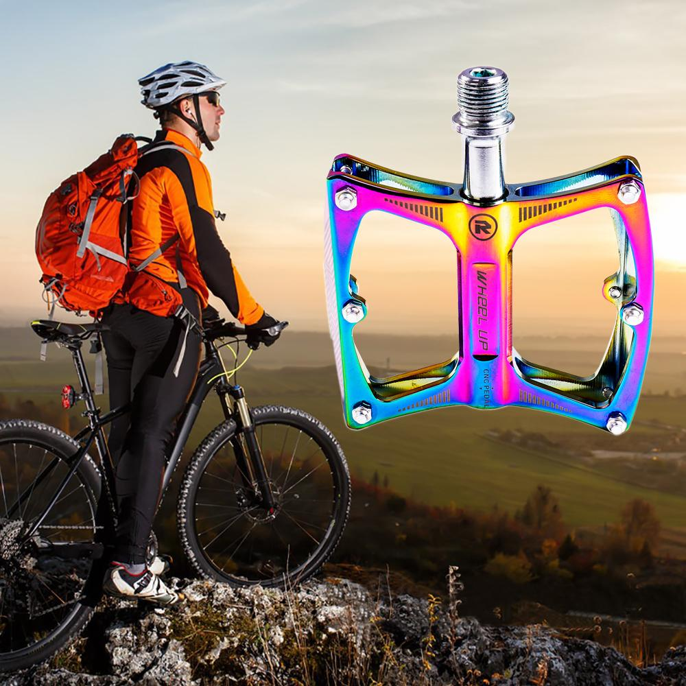 Aluminum Bicycle Bearing Pedals Mountain Road Bike Big Foot Flat Platform Pedals