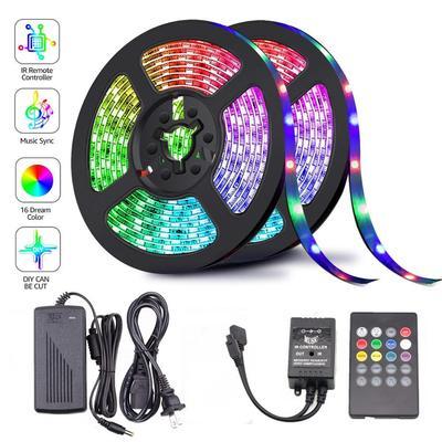 KJ 5050 LED Strip WIFI RGB Led Color Changeable Flexible LED Strip Light + USB