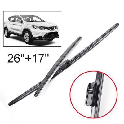 ABS Chrome Rear Window Wiper Cover Trim 3pcs for Nissan Rogue Sport 2017-2019