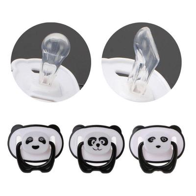 Panda Baby Newborn Silicone Orthodontic Soother Dummy Pacifier Infant Nipple
