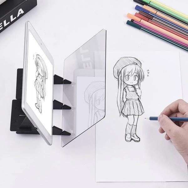 Easy to Paint Sketch assistant Painting Stand Drawing tools for Kids SK MW