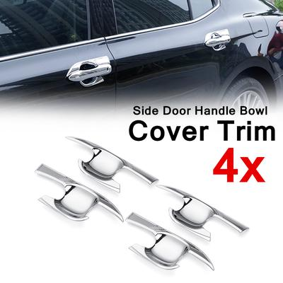 ABS Chrome Side Door Handle Cover Trim 4pcs For Toyota Camry 2018