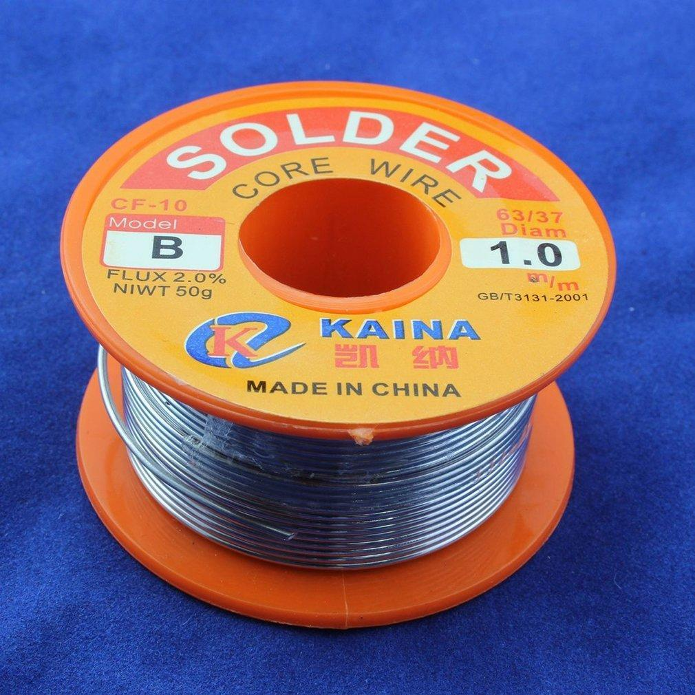 9e0fd1b1484 1mm Rosin Core Solder 63 37 Tin Lead Line Flux Welding Iron Wire ...