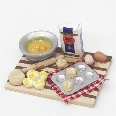 1:12 Scale Dollhouse Mini Kitchen Accessories Cooking Dish Furniture Kids Toys