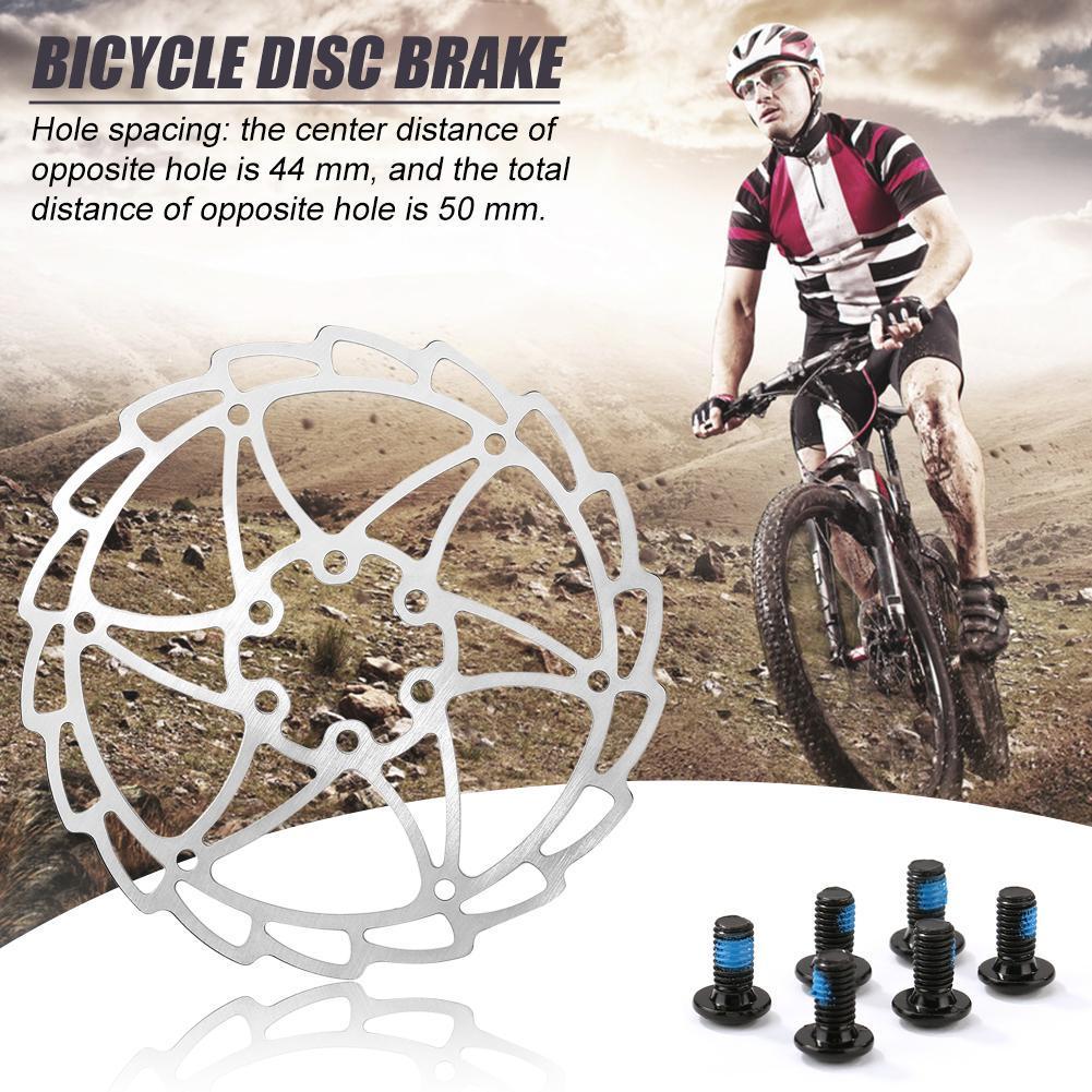 160mm Ultralight MTB Bike Disc Brake Pads Rotors with Screws Cycling Parts N#S7