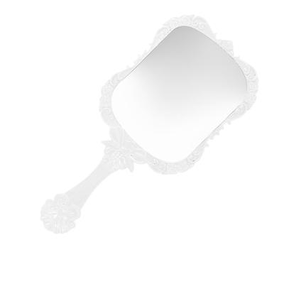 Retro Vintage Butterfly Mirror Square Dress-up Make-up Handheld Desktop Comestic Makeup Mirror Portable