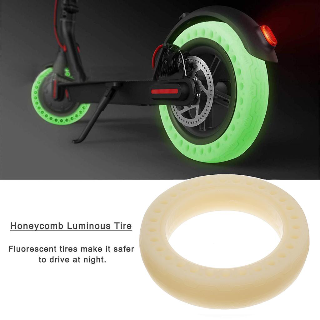 FOLOU Electric Scooter Replacement Wheels Solid Never Flat Tires for Xiaomi M365 or Similar E-Scooter Models Set of 2 Tires