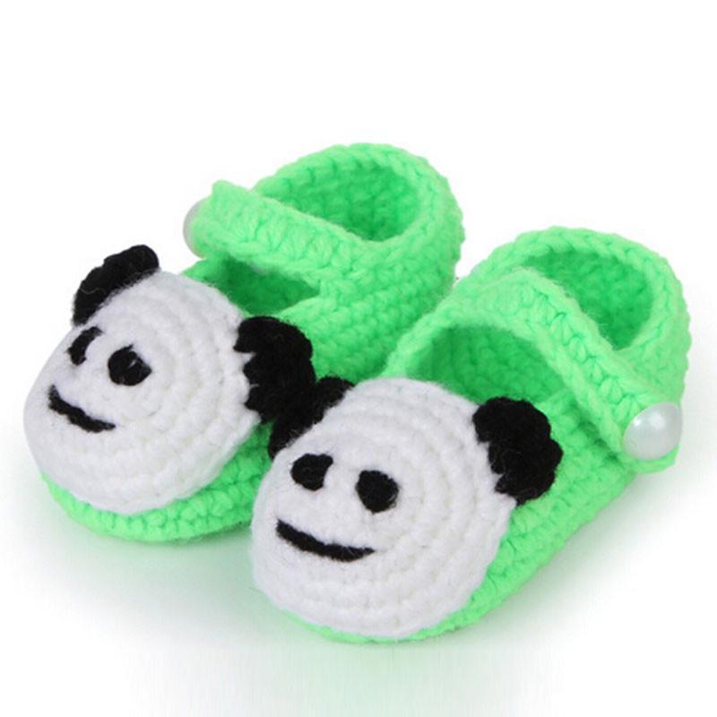 Cute Crochet Shoes Casual Handmade Knit Sock Infant Baby Girls