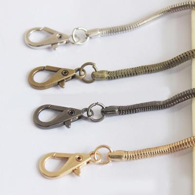 Wild 4.2mm 120cm Cross Body Handbag Shoulder Bag Snake Chain Strap Replacement