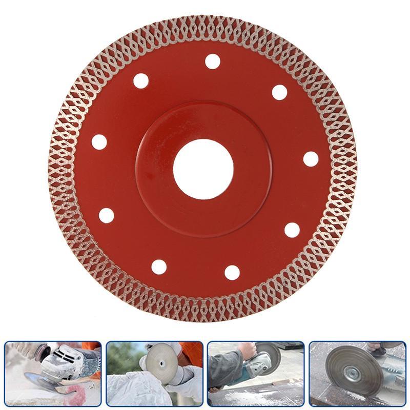 4.5/'/' Super-Thin Diamond Ceramic Saw Blade Porcelain Tile Marble Stone Cutting