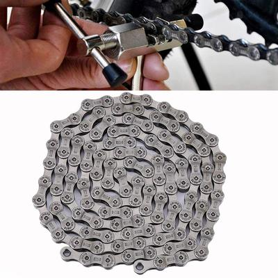 CN-HG73 Chain Link Steel Bike Cycling Bicycle 116 Links for Deore LX 105 9 Speed