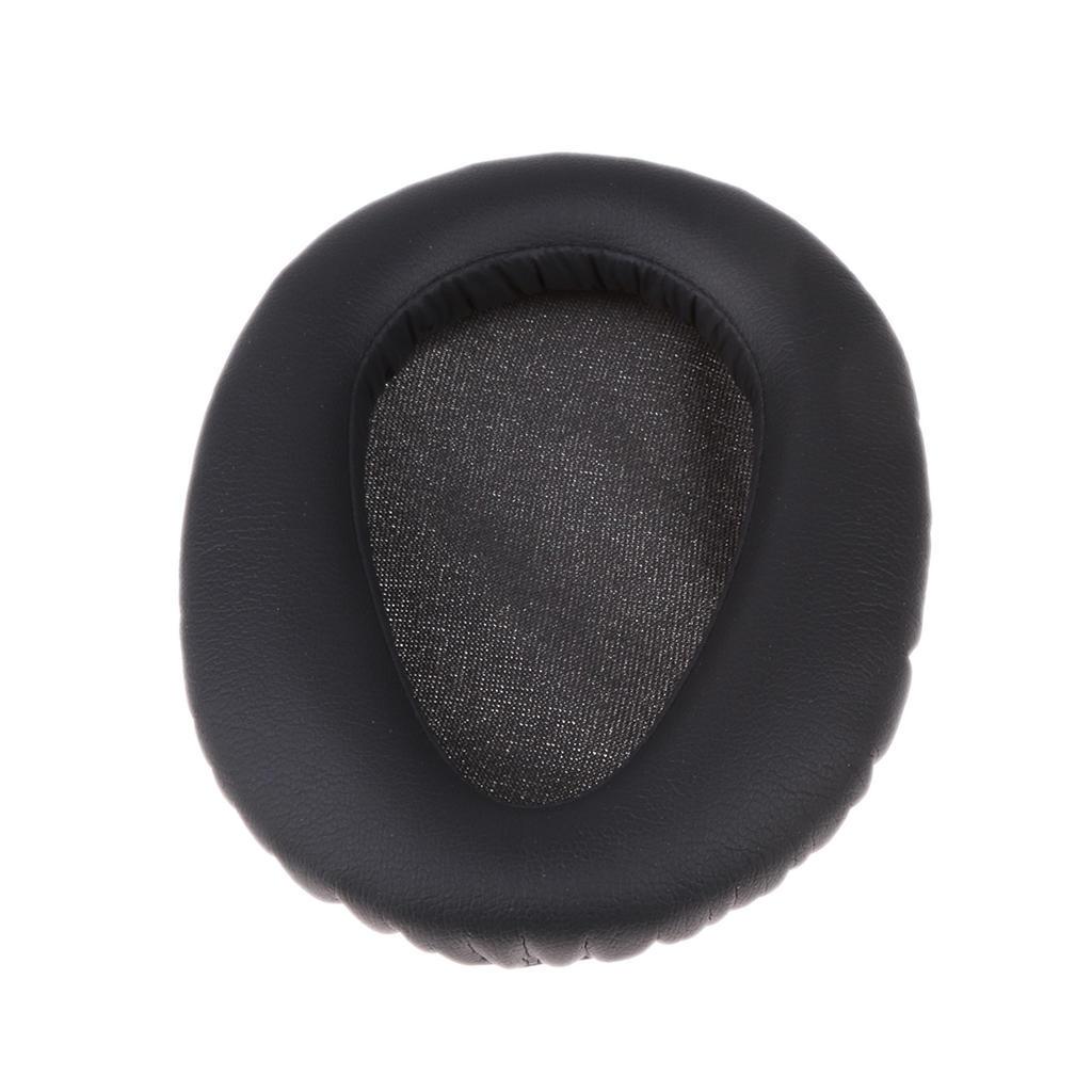 1 Paar Weiche Protein Kunstleder Ersatzohrpolster Kissen für Sony MDR-ZX770BN