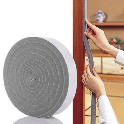 2pc Foam Draught Excluder Wind Weather Proof Seal Strip Insulation Door Window