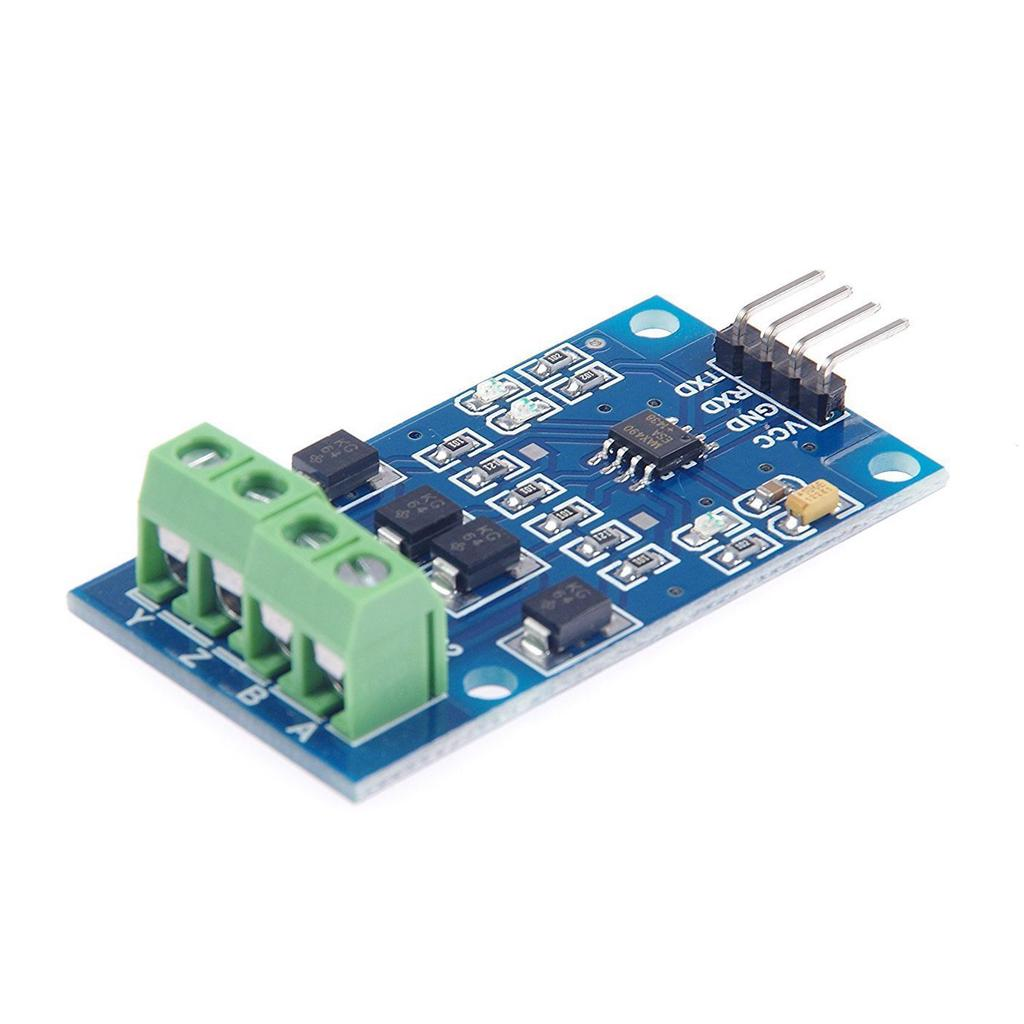Rs422 Mutual Transfer Ttl Bi Directional Signal Module Full Duplex Diy Project Paper Pcb Universal Circuit Board 5x7cm 1 Of 4