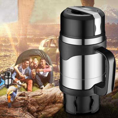 Vehicle Heating Cup Capable Car Beaker Winter Car Electric Kettle Electric Cup Beaker Insulation 12v24v Heating Self-driving Kettle Car Accessories Goods Of Every Description Are Available Car Electrical Appliances