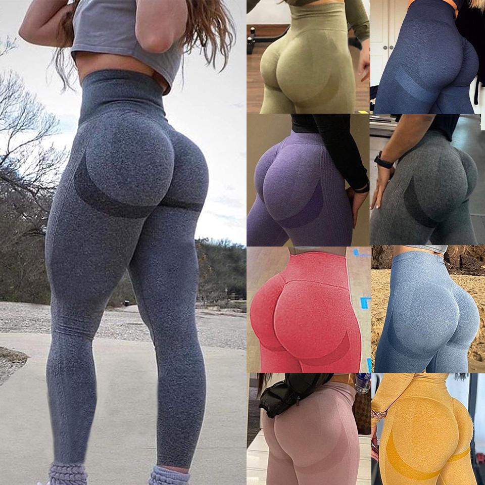 Women Ruch Yoga Pants Anti Cellulite Butt Lift Leggings Booty Gym Sport Trousers