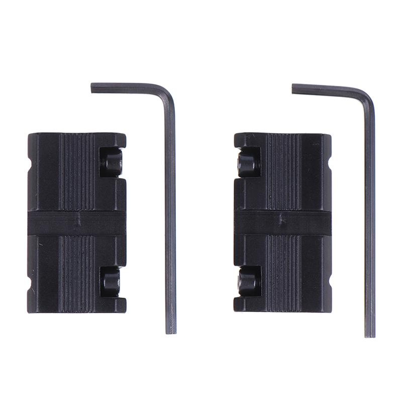 11mm to 20mm Scope Mount Dovetail Base QD Picatinny Weaver Rail Adapter Hunting