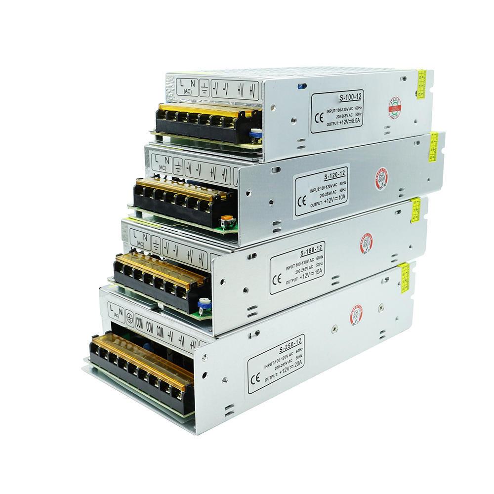 Éclairage transformateurs ac 220v dc12v pilote pour led