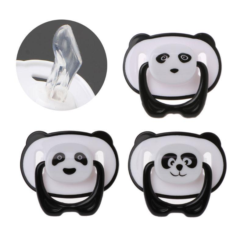Baby Newborn Dummy Pacifier Soother Silicone Teether Nipple Orthodontic Nipple F