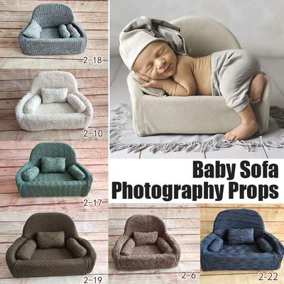 Newborn Baby Photo Props Sofa Seat Chair Photography Shoot Aid Christmas Gift