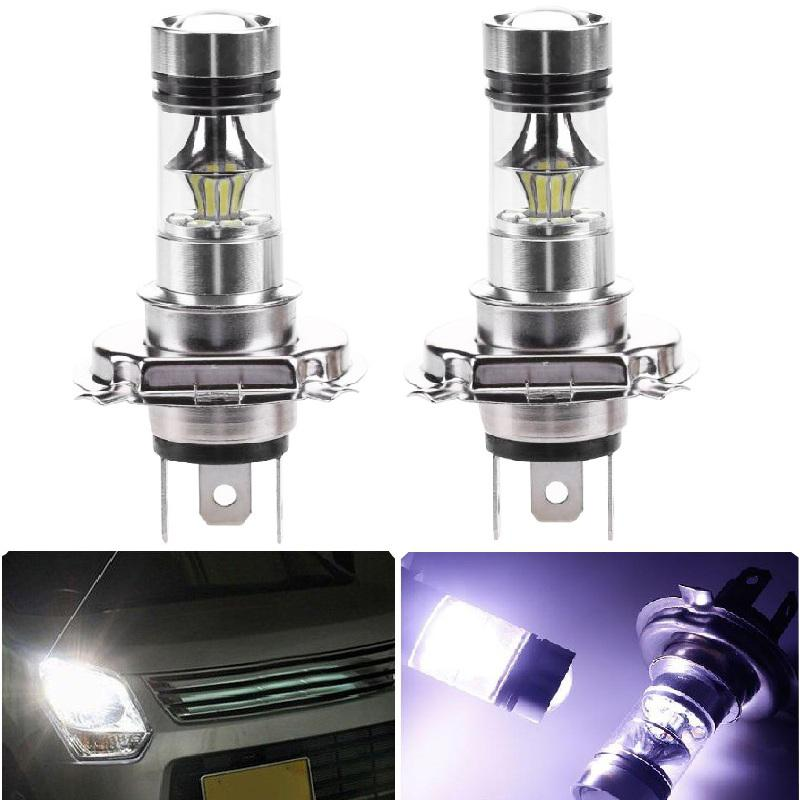 4x Driving Lamp 7000K 6000LM H7 COB LED SMD Fog Extremely Bright White Light