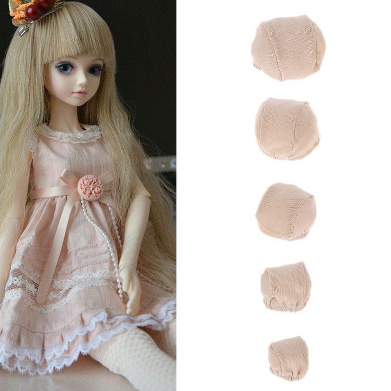 Elastic Hair Headgear Wigs Cap Fixed-Wig Hairnet For 1//3 1//4 1//6 1//8 BJD Doll