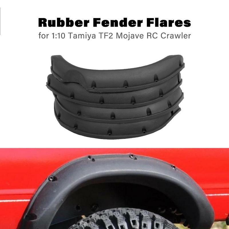 Alloy Side Pedal Footplate Kits für Traxxas TRX 4 1//10 RC Rock Crawler Car