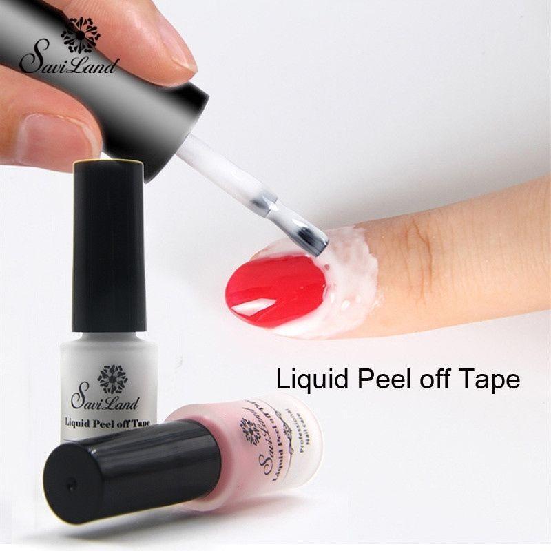 1pcs Finger Skin Protected Glue White Peel Off Liquid Tape Cream ...