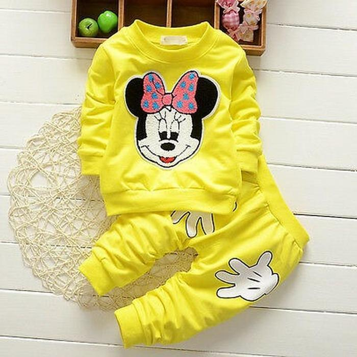 2//3PCS Kids Baby Girl Clothes Outfits Sweatshirt Tracksuit Pants Sets Age 1-7 Y