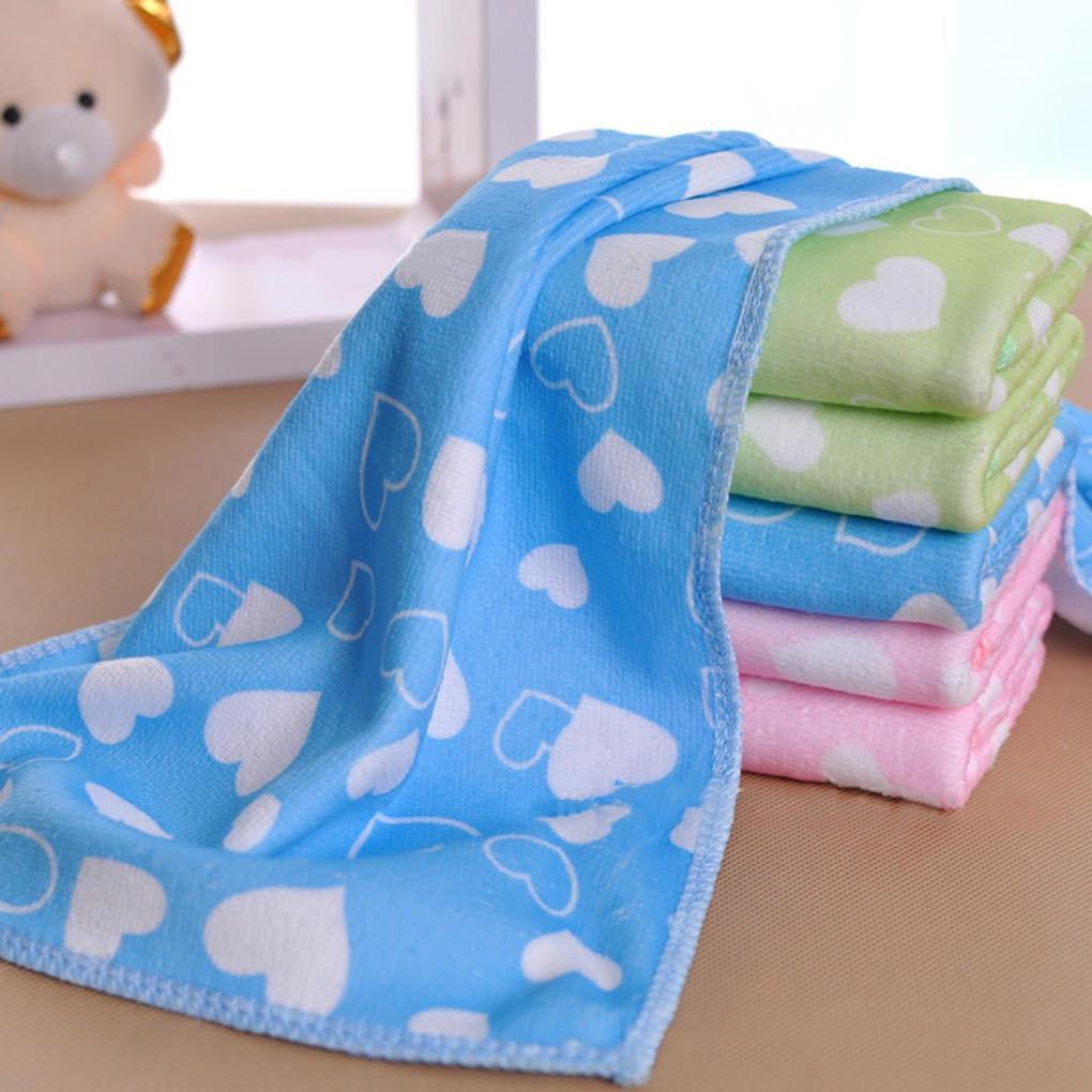 25*50cm Soft Microfiber Absorbent Towel Printing Child Hand Face Towel