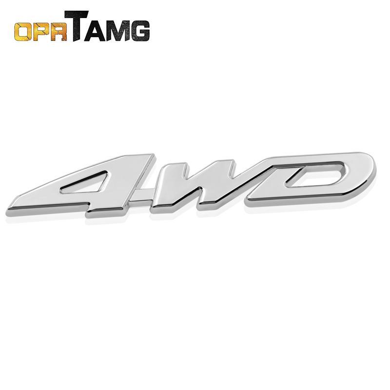 Car 3D Sport Logo Emblem Badge Sticker Decal Accessories Metal Chrome Modern