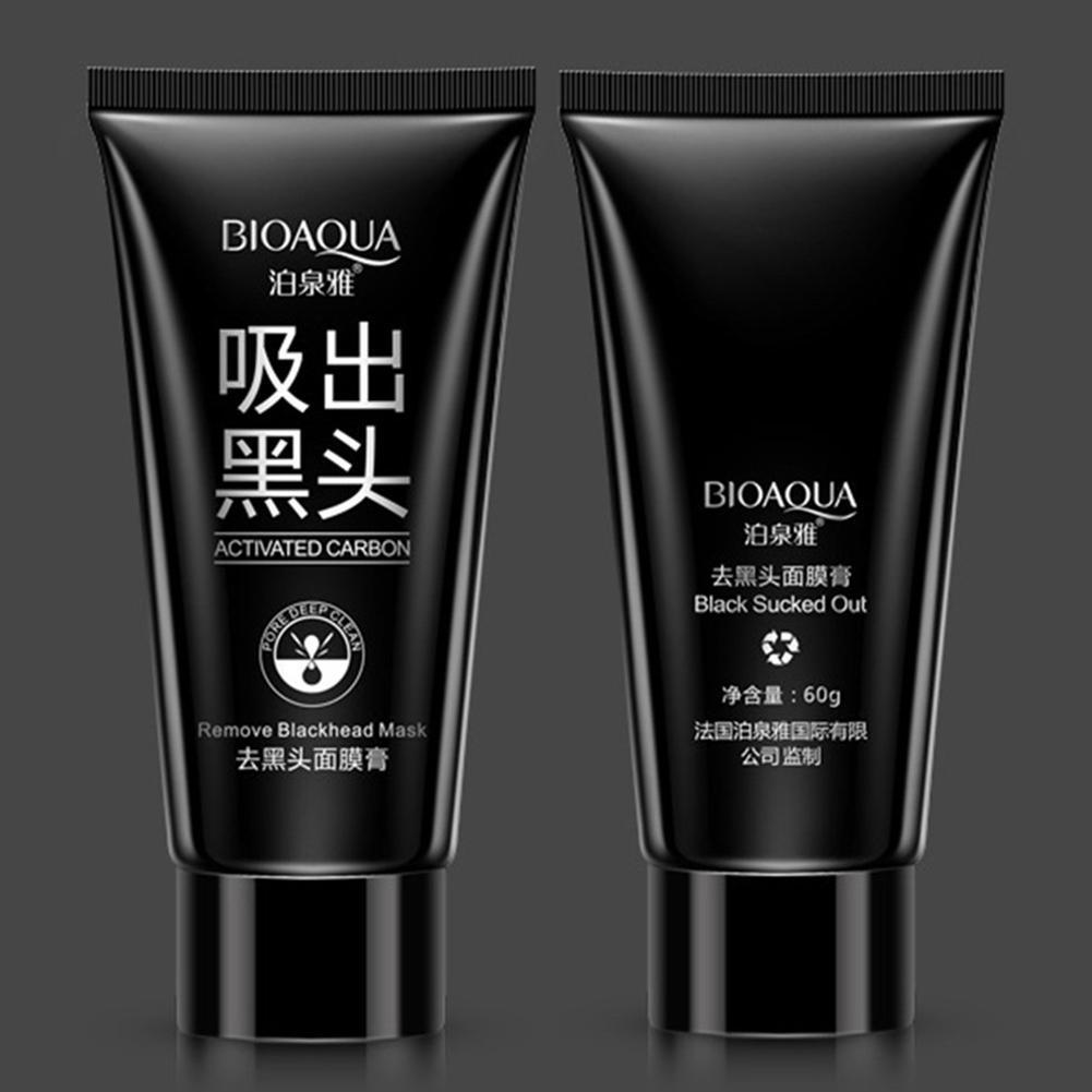 Boquanya Activated Carbon Remove Blackhead Mask Acne Treatment Peel Bioaqua Black Charcoal 2 Of 8