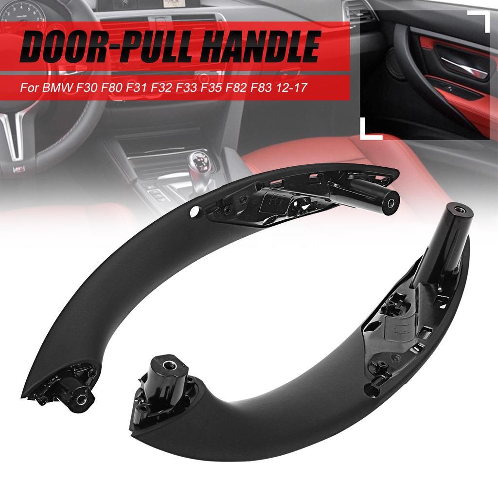 Front Left Inner Door Pull Handle for BMW F30 F80 F31 F32 F33 F35 M3 Black