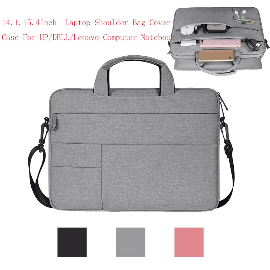 14 15.6inch Pro Laptop Shoulder Bag Cover Case For HP//DELL Computer Notebook PC