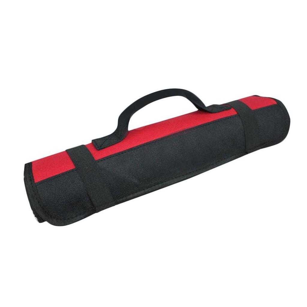 Car Tool Screwdriver Spanner Storage Pocket Reel Rolling Carry Bag Oxford Pocket