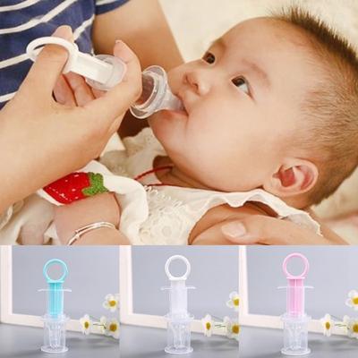 Transparent Infant Medicine Dropper for Infant Pacifier Infant Nipple Syringe