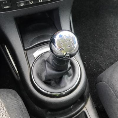 Stainless Steel Manual Gear Shift Knob VTS Sports Lever HandBall for Peugeot 106 206 306 406