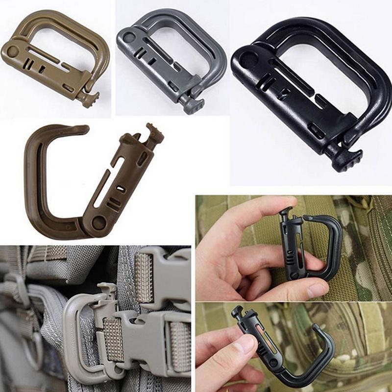 High Quality Outdoor Keys Hook Hanging Belt Umbrella Rope Climbing Carabiner