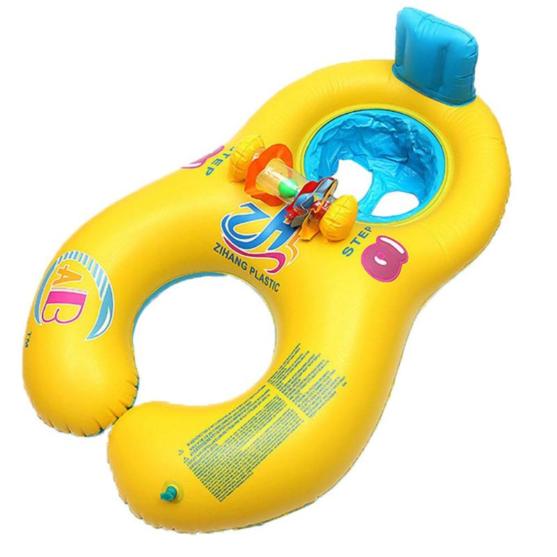 Baby /& Kids Swimming Lifebuoy Neck Float Collar Safety Tube Ring 0-3 years old