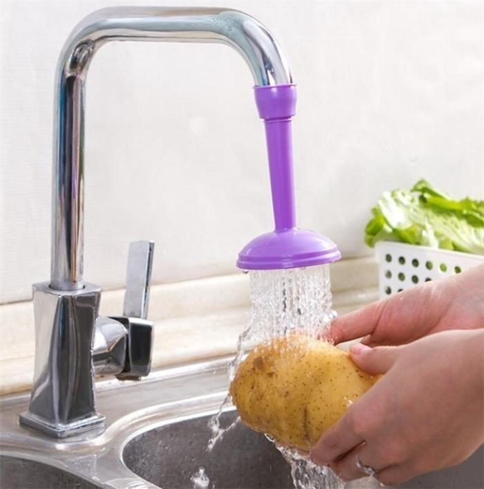 Sprüher Wasser sparen Dusche Kopf Küche Spray Wasserhahn Adapter ...