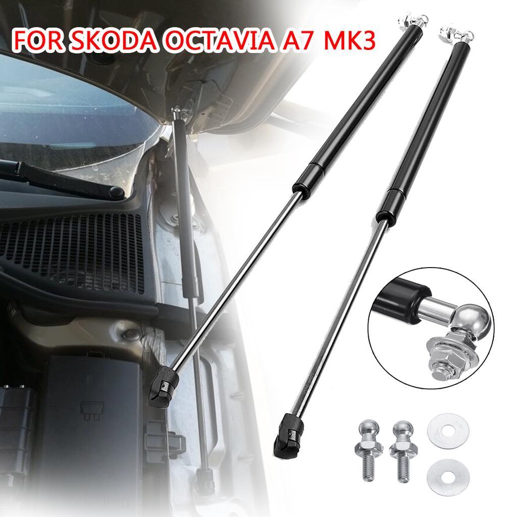 Carbon Bonnet Hood Gas Strut Lift Damper Kit 2Pcs for SKODA 2014 Octavia Combi