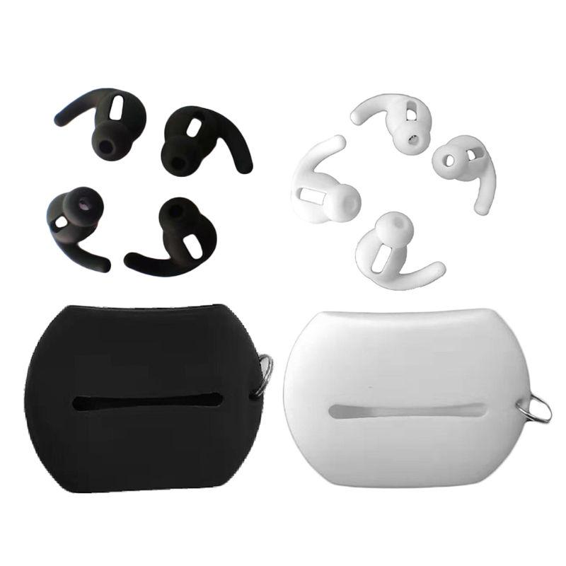 Earbuds In-ear Tips Case Replacement Compatible for Huawei Freebuds3 Black