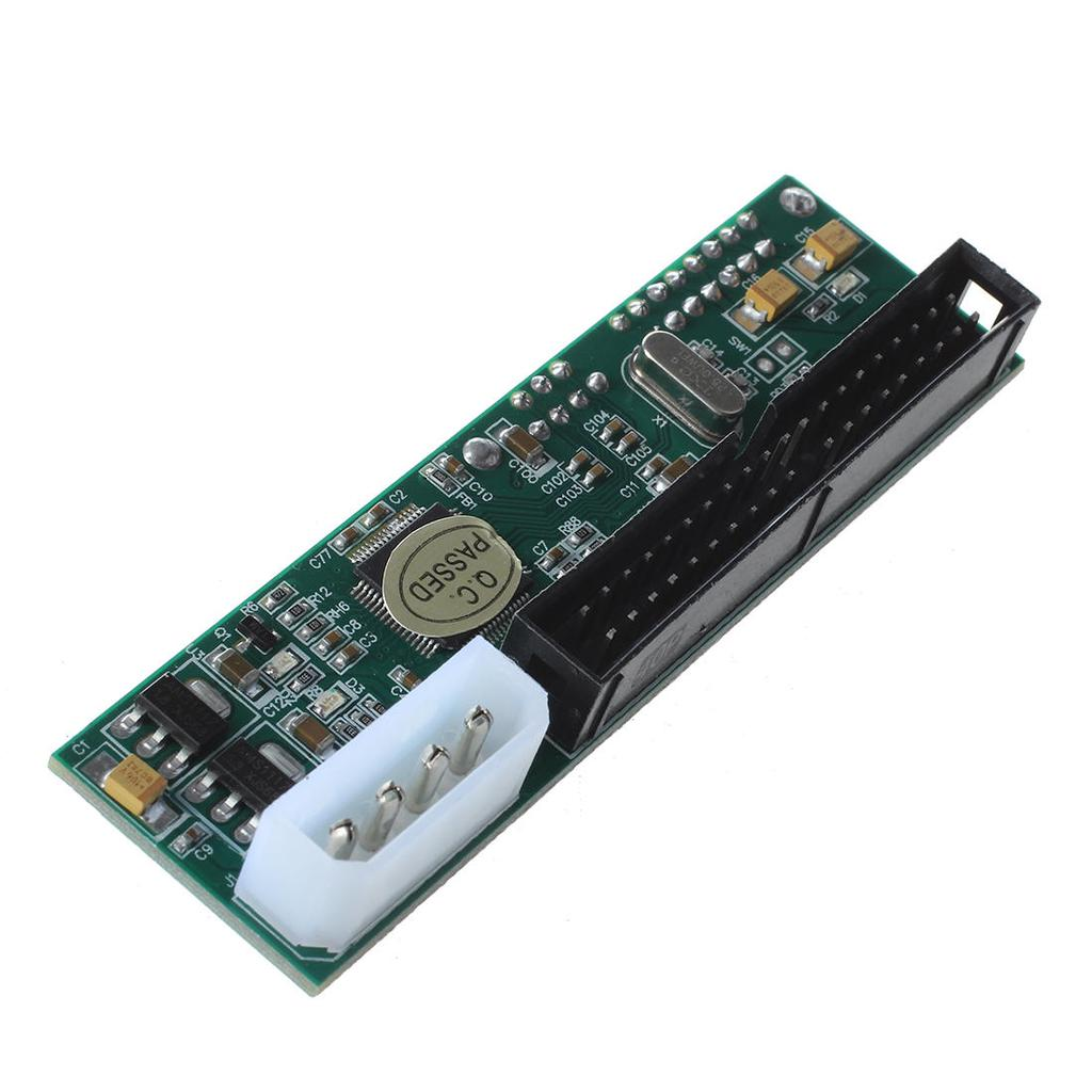 3.5 IDE Male to 2.5 IDE female 44 pin to 40 pin SATA converter adapter caES