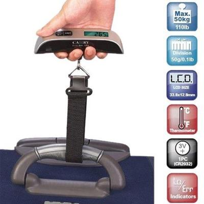 Miniscale Portable LCD Digital Hanging Luggage Scale Travel Electronic Weight