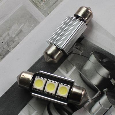 2pcs Super Bright LED Canbus License Plate Light for VW Golf 3 4 5 6 Passat