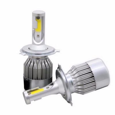 2Pcs Car H4 9003 LED Lamp Headlight Kit With Canbus 80W 8000LM Beam Bulbs 6000K